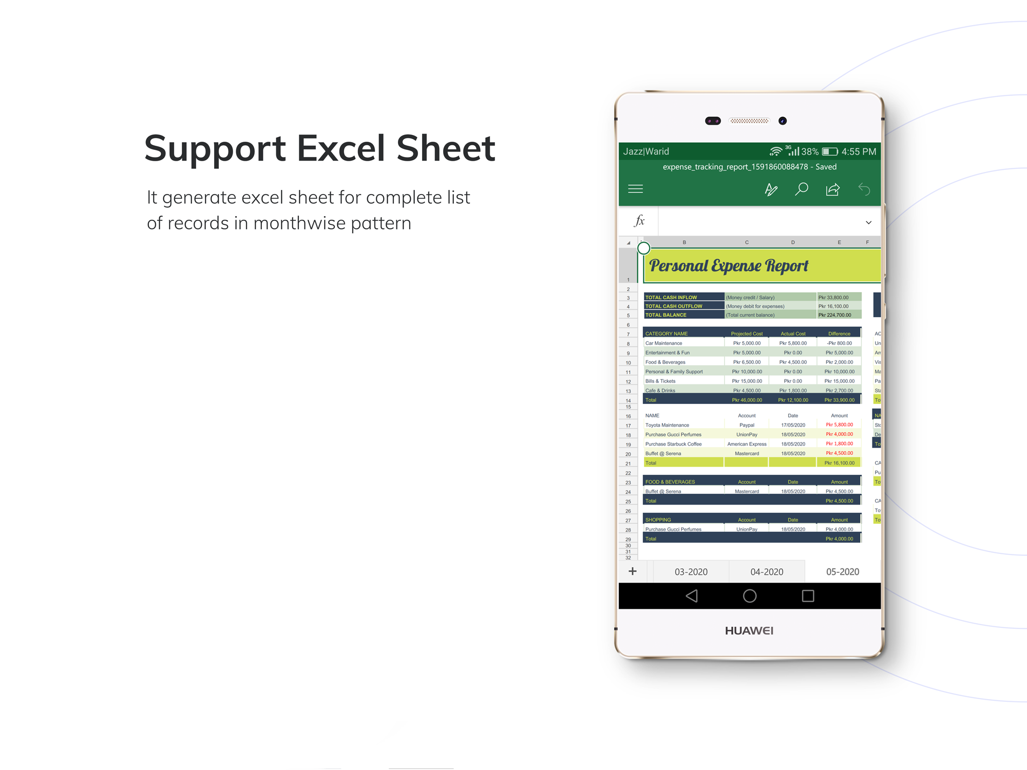 Budget App - Personal Expense Tracking App - 11