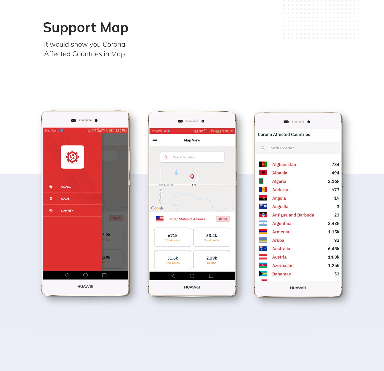 Covid19 - Corona Tracker App - 6