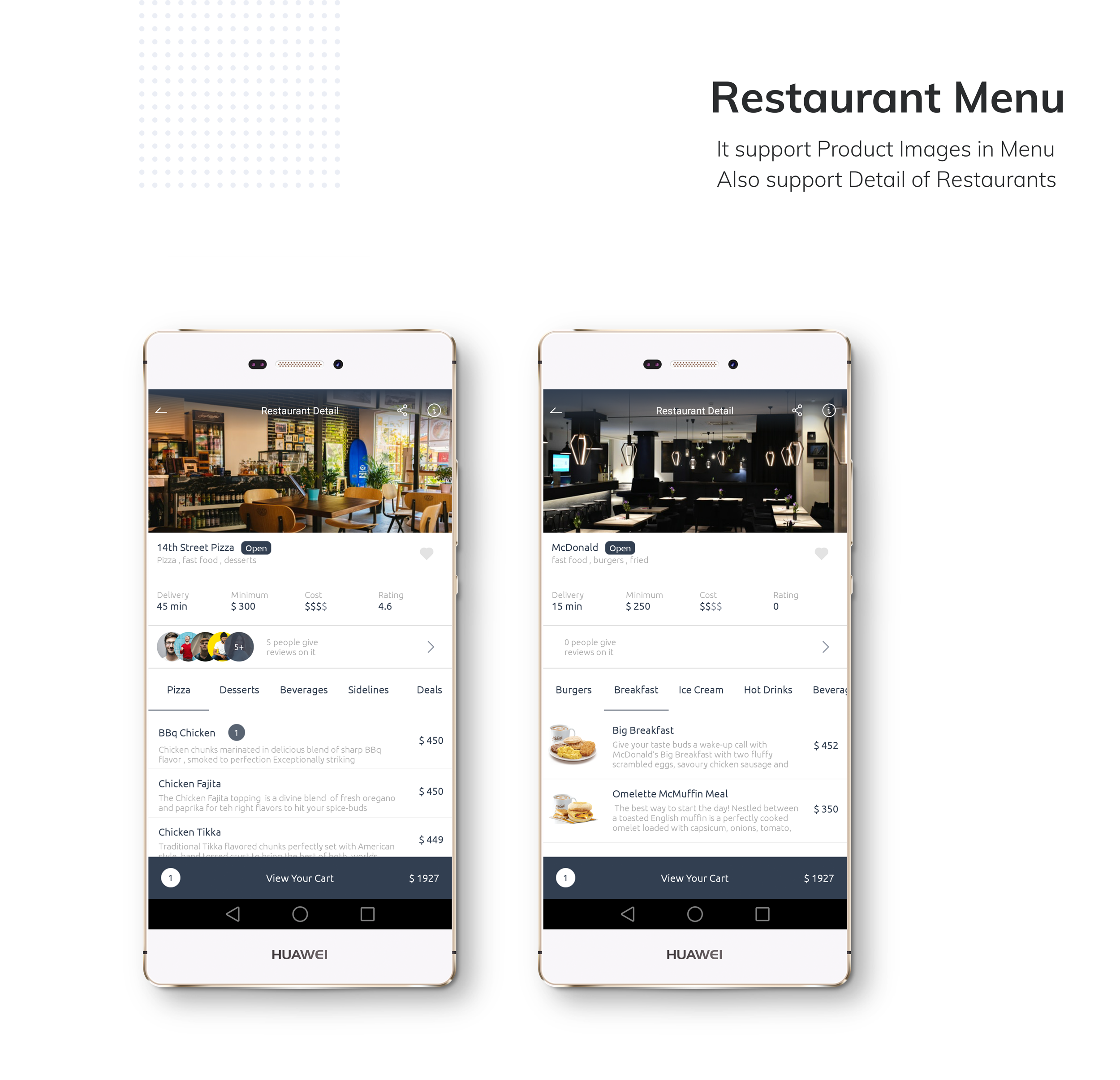 Restaurant Food Delivery App with Delivery Boy - 4
