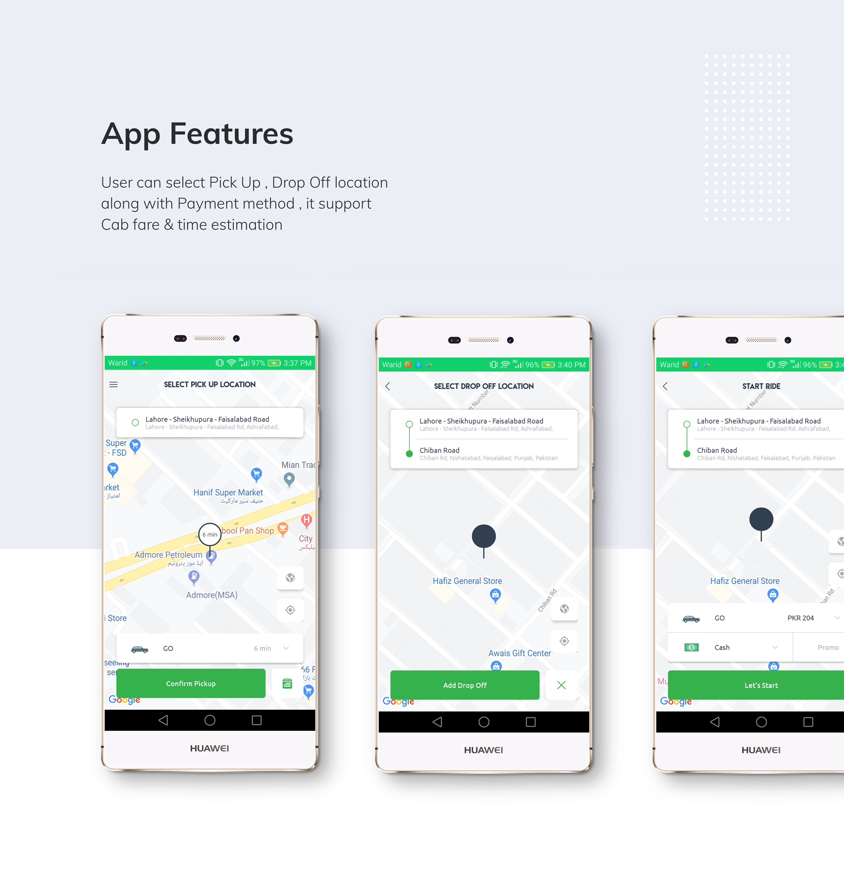 Kareem Taxi App - Cab Booking Solution + admin panel - 3