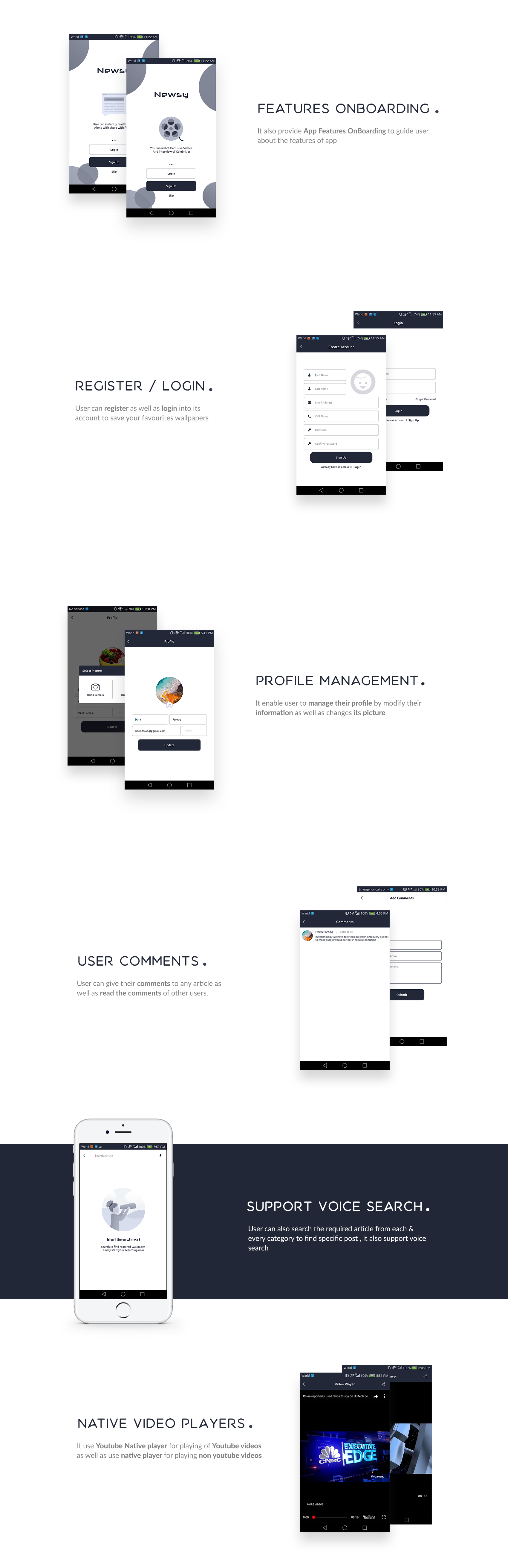Newsy - Full Featured Native WordPress App - 2