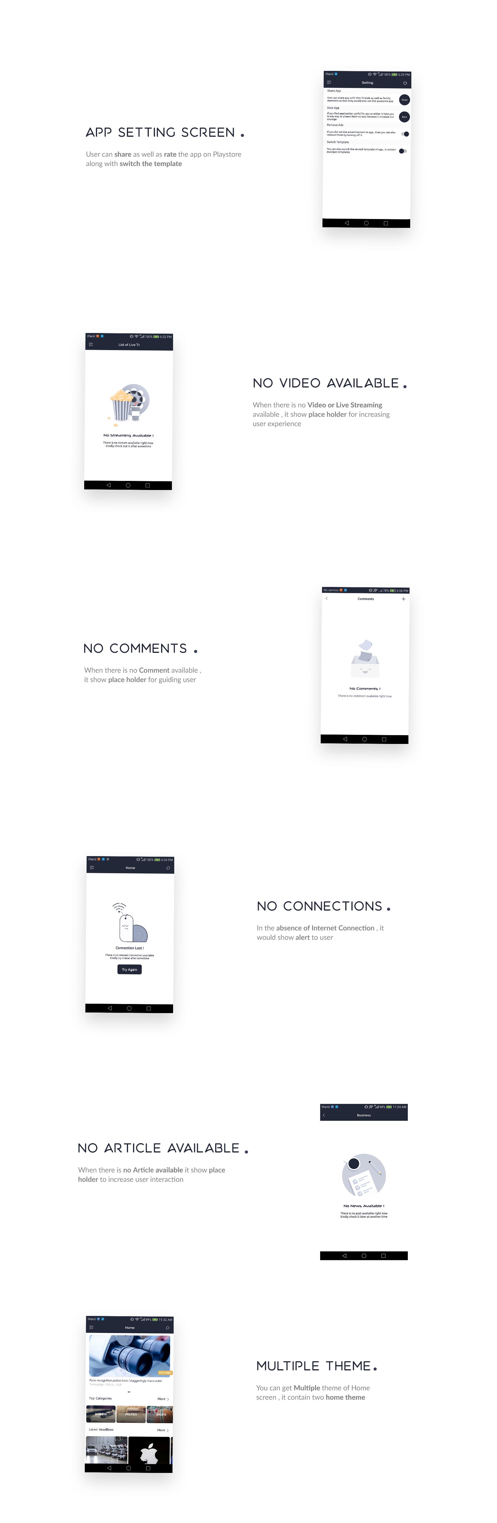 Newsy - Full Featured Native WordPress App - 3
