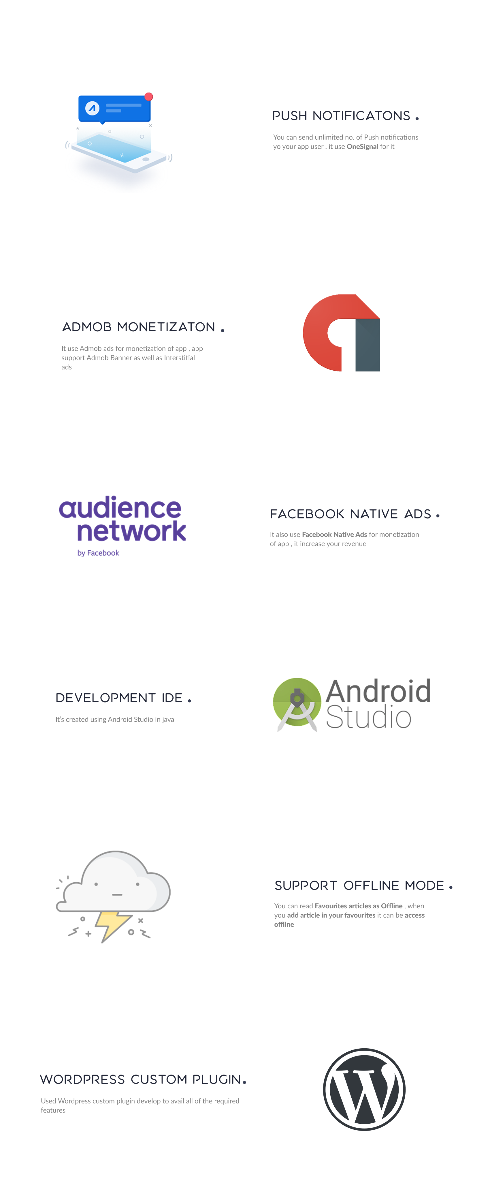 Newsy - Full Featured Native WordPress App - 5
